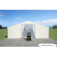Wholesale White Industrial Marquee Outdoor Warehouse Tents , Temporary Warehouse Structures from china suppliers