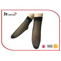 Wholesale Stretchy Nylon Trouser Ladies Silk Socks Black Spot And Fishnet Tights from china suppliers