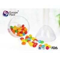 Wholesale ISO9001 Round Dessert Cups 36g Clear Plastic Egg Shape Container from china suppliers