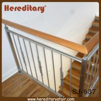 Wholesale Decorative Vertical Stainless Steel Bar Balustrade Design (SJ-637) from china suppliers