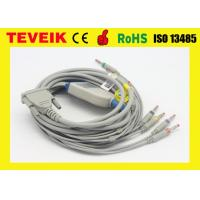 Wholesale Temis One Piece 5 Leads ECG Monitor Connector Cable With DB15 Connector from china suppliers