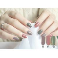 Wholesale Soak Off No Odor Lively Pure Color UV LED Gel Nail Polish At Home Chemical Free from china suppliers