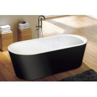 Wholesale cUPC one piece black freestanding acrylic tubs,freestanding bath,luxury bathtubs from china suppliers