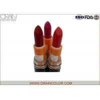 Wholesale Classic beautiful Red Make Up Lipstick / Mineral long last lipstick customized from china suppliers
