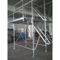 Wholesale Light Weight Aluminum Ring Lock scaffolding System with 30Kg / ㎡ Loading Capacity from china suppliers