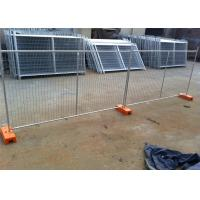 Quality Heavy Duty HDG Temporary Fence For Construction Temporary Safety Fence for sale