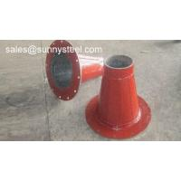 Wholesale Ceramic Lined Reducer Pipe with flange from china suppliers