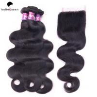 Wholesale 100% Real Indian Remy Grade 7a Virgin Hair Extension No Tangle No Shedding from china suppliers