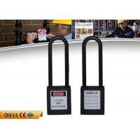 Wholesale ZC-G31L Safety Lockout Padlocks  Non-Conductive Nylon Long Shackle ABS Body from china suppliers