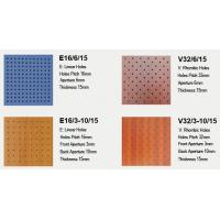 Buy cheap Perforated acoustic panel from wholesalers