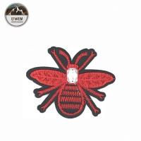 Wholesale 8 * 6.5CM Size Bee Embroidered Patch , Bumble Bee Patch Various Designs from china suppliers