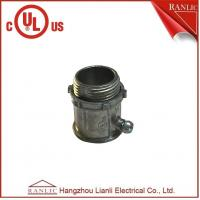 "Wholesale Electrical Conduit EMT Connector Zinc Die Casting UL Listed 1/2"" to 4"" Available from china suppliers"