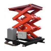 Wholesale 8000mm stationary scissor lift platforms , 4000Kg electrical fixed vertical lift platform from china suppliers