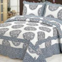 Wholesale 100% Cotton Bed Spread, Available in Various Designs and Sizes from china suppliers