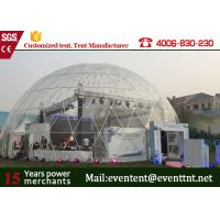 Wholesale 25m water - proof high snowload large dome tent for festival event show from china suppliers