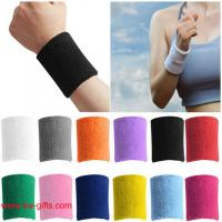 Wholesale Sport wristband Unisex Cotton Sweat Band Sweatband Arm Band Wristband Tennis Basketball from china suppliers