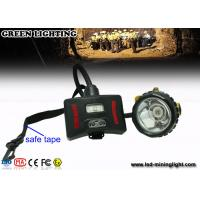 Wholesale 208 Lum Waterproof Mining Cap Lights , Superbright CREE led mining lamp Customized LOGO from china suppliers