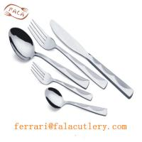 Buy cheap North Africa Wholesale High Quality 24K Gold Cutlery Sets from wholesalers