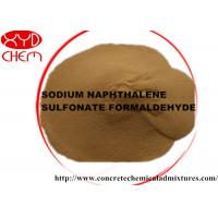 Wholesale Powder naphthalene superplasticizer / naphthalene sulphonate formaldehyde Low Na2SO4 Content from china suppliers