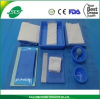 Wholesale Hospital use EO Sterile Surgical Delivery Drape Pack from S.E.S Healthcare from china suppliers