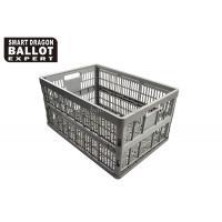 Wholesale Recyclable Heavy Duty Plastic Crates For Vegetables / Large Plastic Storage Baskets from china suppliers