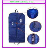 Wholesale non-woven suits hanging pocket,suit garment bag, garment bag from china suppliers