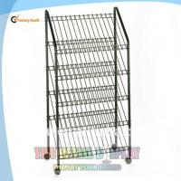 Wholesale 5 tiers Floor Bread Display Rack from china suppliers