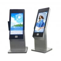 Wholesale 43 Inch Floor Stand Interactive IR Touch Screen Kiosk Computer Totem With Webcam And Scanner from china suppliers