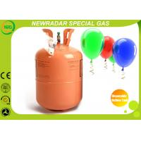 China Helium Balloon Gas Cylinder Disposable Helium Canister DOT Approve on sale