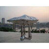 Buy cheap Stainless steel sculpture with mirror finish, polish metal sculpture,china stainless steel sculpture supplier from wholesalers