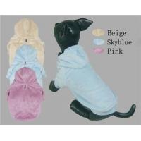 Wholesale Winter Dog Coats Velour Hoodies from china suppliers