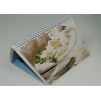 Wholesale Offset Custom Photo 4 Color Calendar Printed , Desk Calendar Printing from china suppliers