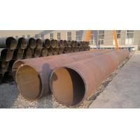 Wholesale Black Painted LSAW / ERW Welded Steel Pipe , Seamless Carbon Steel Pipe For Construction from china suppliers