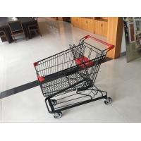 Wholesale Supermarket Shopping trolley of beautiful coating , 4 swivel autowalk Casters 125L from china suppliers