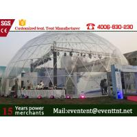 Quality Standard Beautiful Large Dome Tent Marquee 30 Meters Diameter For Carnival for sale
