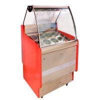 Wholesale Fan Cooling Refrigerated Cake Display Cabinets Low Power Consumption from china suppliers