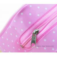 China 0.25mm Transparent Zipper Cosmetic Bags Cartoon Character Pattern For Travelling for sale