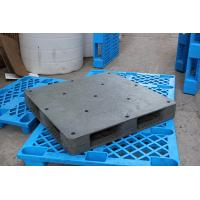 Quality Heavy duty black plastic pallet for sale