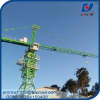 Wholesale Max. Load Capacity 12t Topkit Tower Crane 60mts Working Boom TC6024 from china suppliers