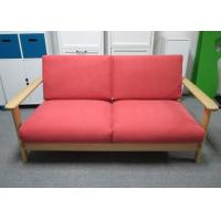 Wholesale Colorful Solid Ash Wood 2 persons Seater Sofa Furniture 1550 X 830 X 749 mm from china suppliers