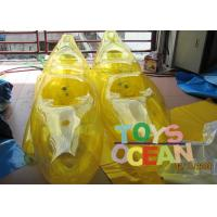 Wholesale Air Sealed Funny Inflatable Water Toys Floating Walking Shoes For Adults / Kids from china suppliers