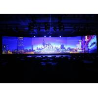 Quality Portable HD Indoor LED Video Wall / Light Weight LED Display Boards RGB For Conference for sale