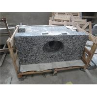 Wholesale Custom Cut Stone Table Top Flat Edge Sea Wave White Countertop For Kitchen from china suppliers
