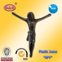 """Wholesale Plastic Jesus Cross and Crucifix Model """" JP1 """" size 13*15cm funeral decoration from china suppliers"""
