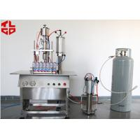 Wholesale Semi Automatic Lubricant Sprays Aerosol Filling Machines from china suppliers
