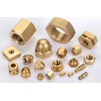 Wholesale OEM high precision brass hexagon nuts made in China from china suppliers
