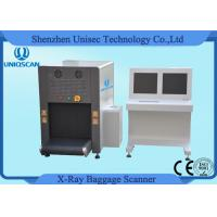 Wholesale ISO1600 Film Duel View SF6550D Security Baggage Scanner 38AWG , 40mm Steel Penetration from china suppliers