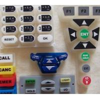Buy cheap laser etched silicone rubber keypad from wholesalers