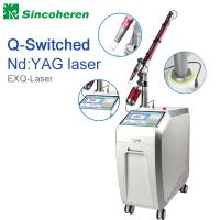 Wholesale Q Switched Nd YAG Laser Tattoo Removal Machine , Laser Treatment For Birthmark / Nail Fungus from china suppliers