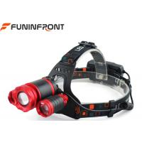 Wholesale Waterproof 3*CREE XML T6 Outdoor LED Headlamp Zoom with Micro USB Rechargeable from china suppliers